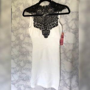 Dresses & Skirts - White/Black Dress